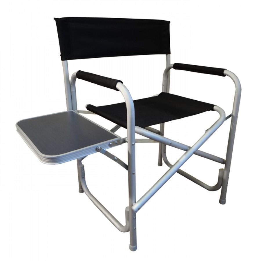 Foldable Chair With Side Table